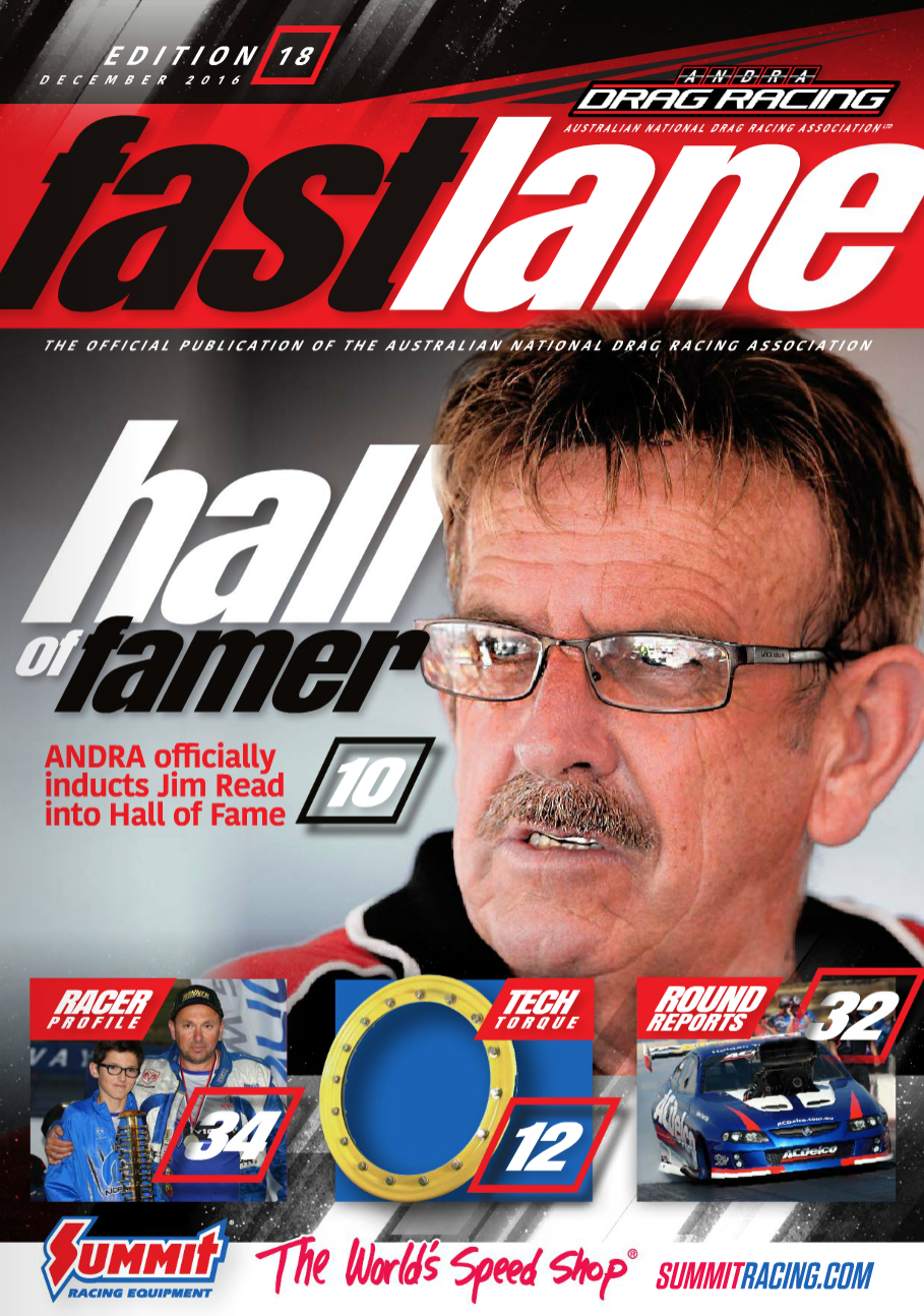 Fastlane Magazine Issue 18 - Cover