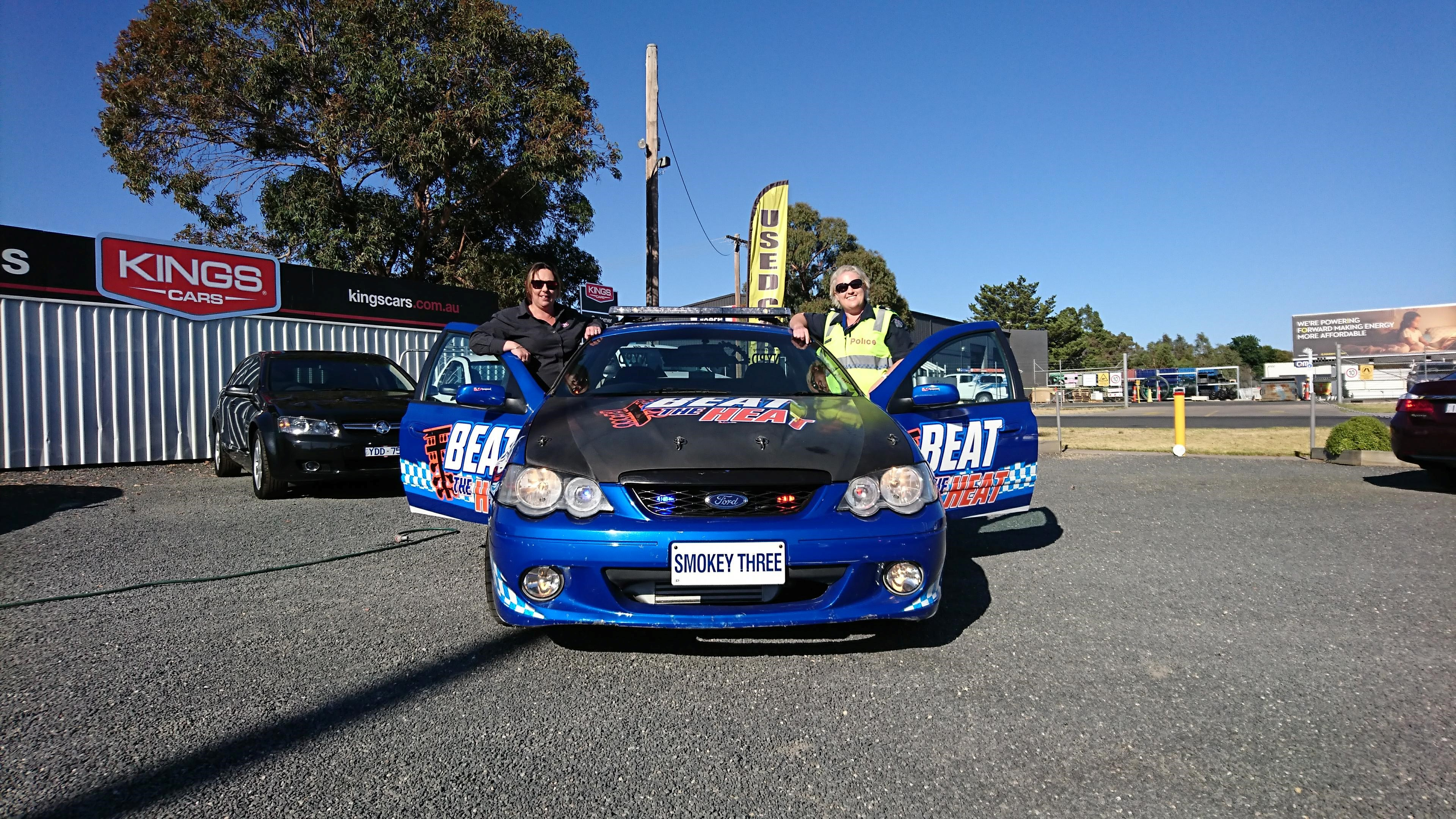 Beatthe Heat Victoria - Senior Constable Dani Richardson and Rachael Ralph