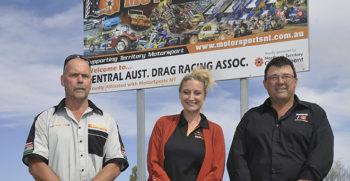 mark yak probst president of central australia drag racing association heid - web