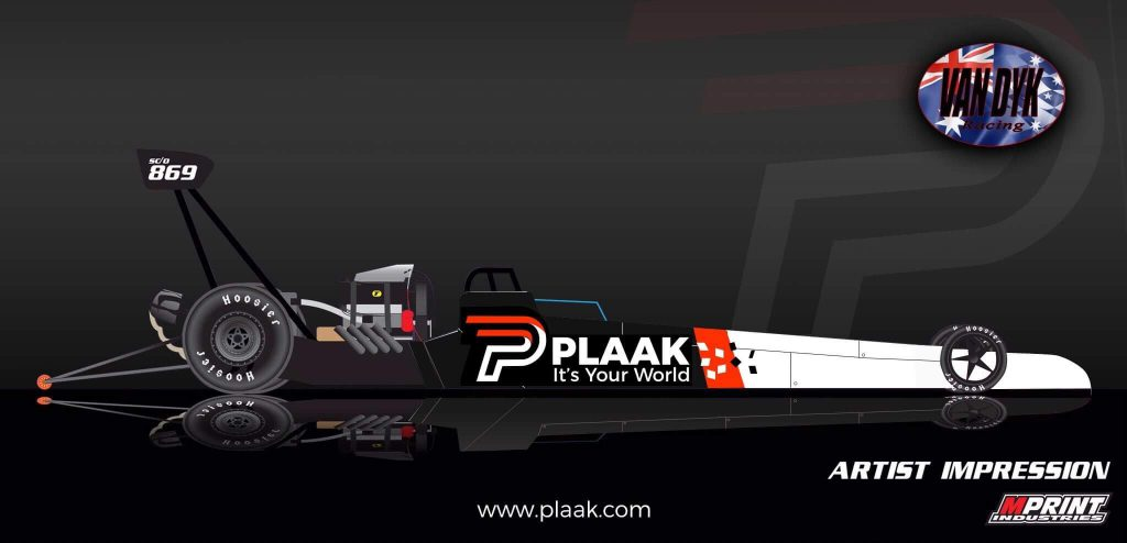 Van Dyk Racing livery mock-up