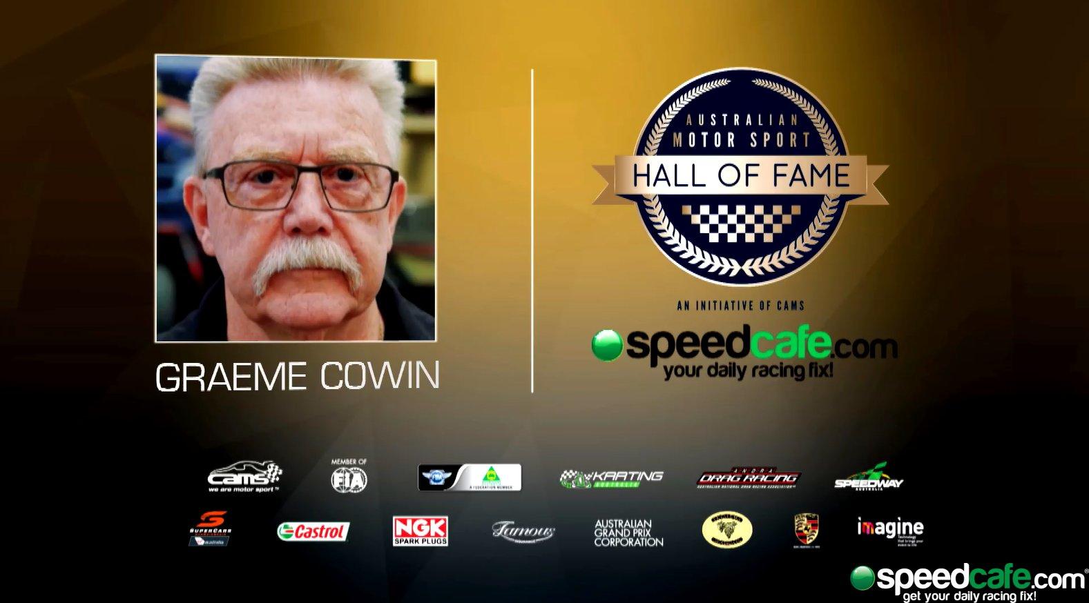 Graeme Cowin Hall of Fame