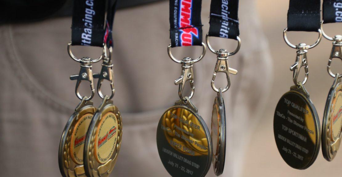 Top Qualifier Medallions Credit:DragPhotos.com.au