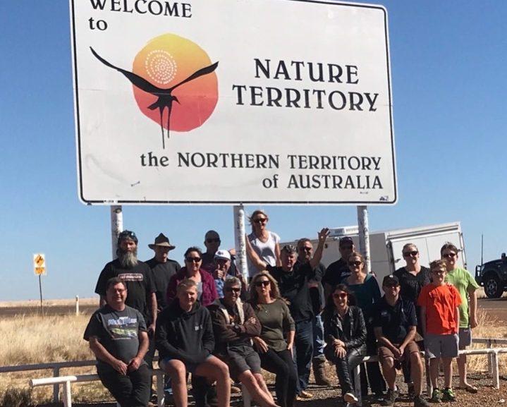 Hutcho road trip group shot